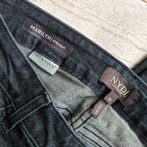 NYDJ Jeans - NYDJ Marilyn Straight dark wash 16P Like New